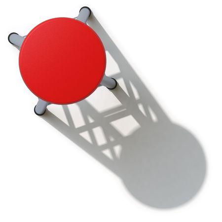 barstool: chair Stock Photo