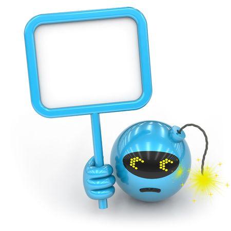 blank bomb: toy