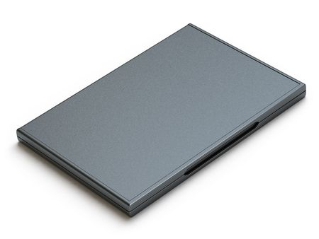 cd rw: disk case Stock Photo