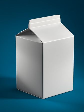 milk box Stock Photo - 8061464