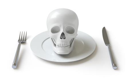 skull Stock Photo - 8538355