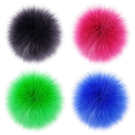 fluffy balls Stock Photo - 8989544