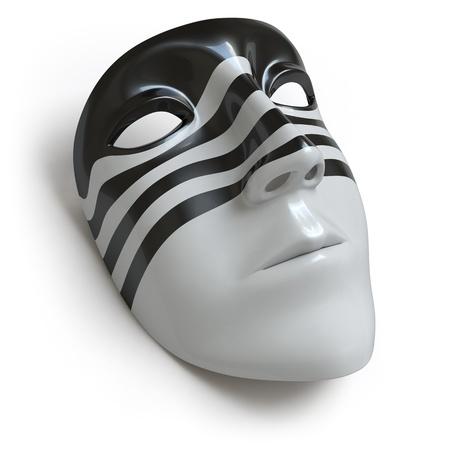 femme masqu�e: masque