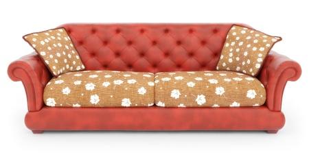 arredamento classico: divano Archivio Fotografico