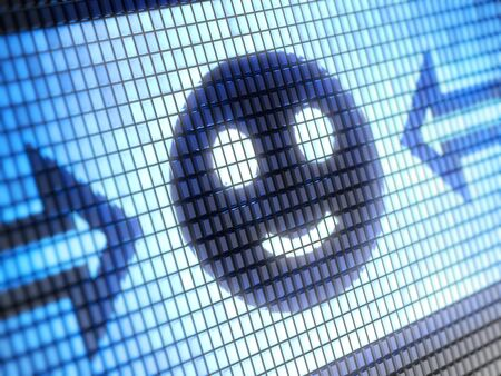 smile icon Stock Photo - 9691457
