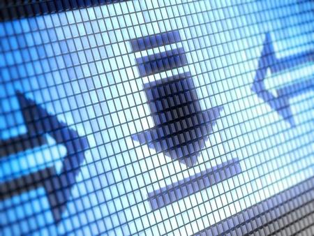 download icon Stock Photo - 9691461