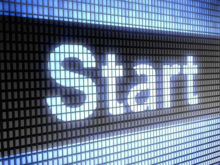 kickoff: start