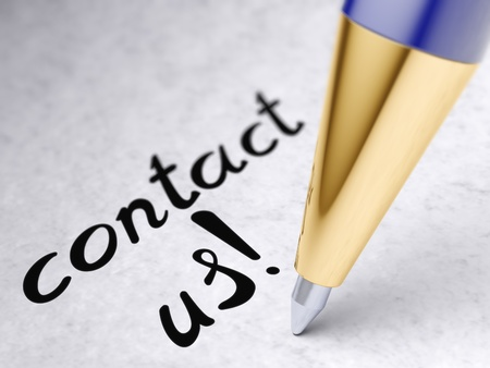 contact us Stock Photo - 9830411