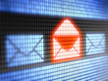 webmail: mail Stock Photo