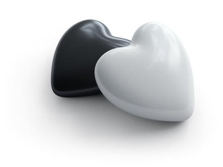 two hearts Stock Photo - 10923072