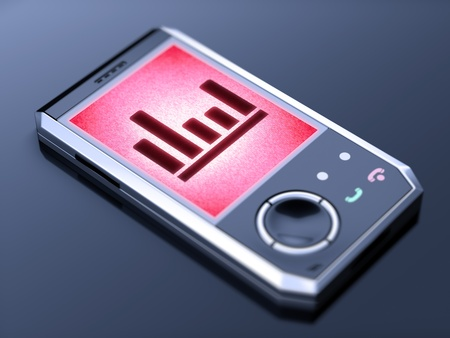 It is my own design of mobile phone, therefore you can use this picture for commercial purposes. photo