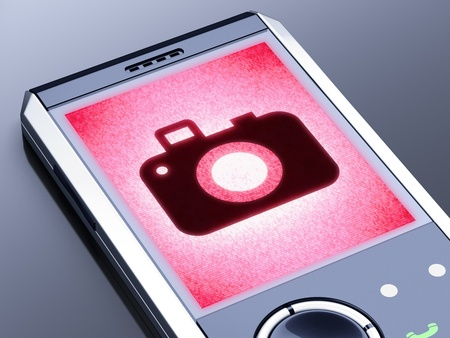 It is my own design of mobile phone, therefore you can use this picture for commercial purposes. Stock Photo - 11009371