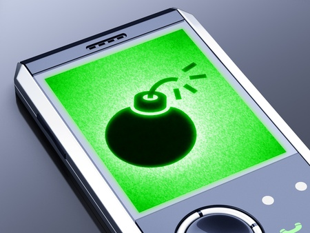 It is my own design of mobile phone, therefore you can use this picture for commercial purposes. Stock Photo - 11009483