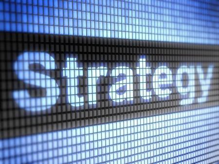 전략 스톡 콘텐츠