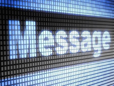 message Stock Photo - 11274595