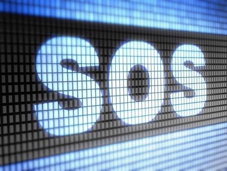 SOS Stock Photo - 11614246