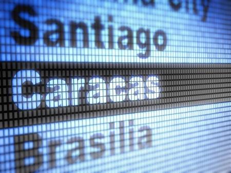 caracas: caracas Stock Photo