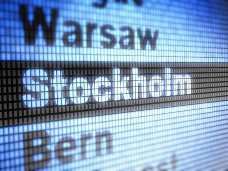 Stockholm Stock Photo - 11914349