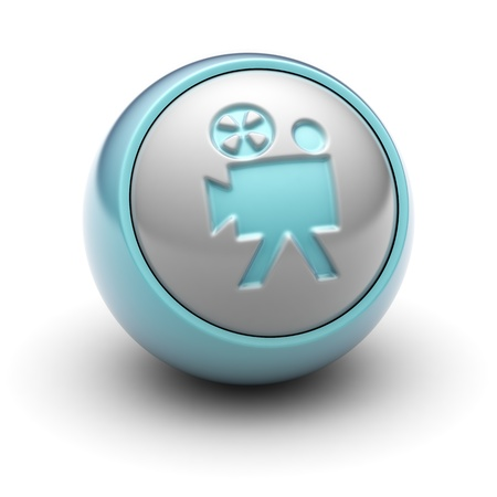 video icon: camera Stock Photo