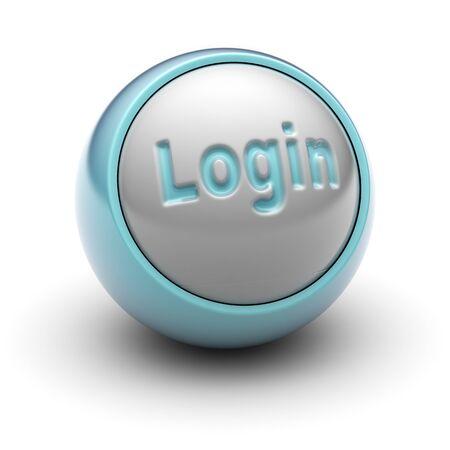 login Stock Photo - 13407481