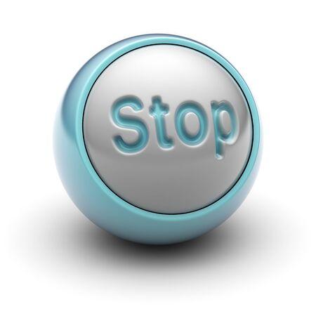 stop Stock Photo - 13407495