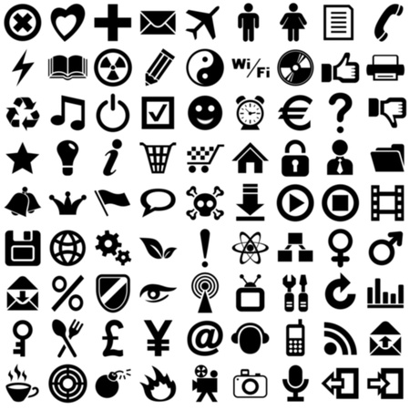 icons Stock Photo - 13623513