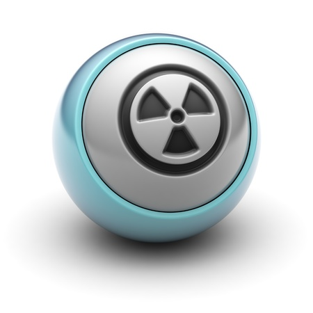 uranium radioactivity: radioactive Stock Photo