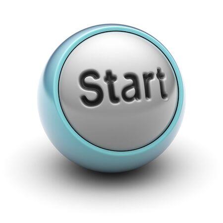 command button: start