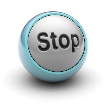 command button: stop