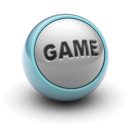 gamepad: game Stock Photo