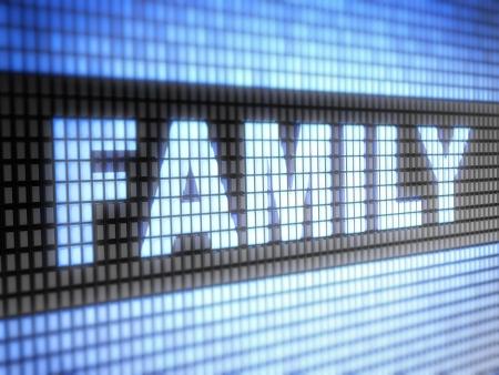 black ancestry: family Stock Photo