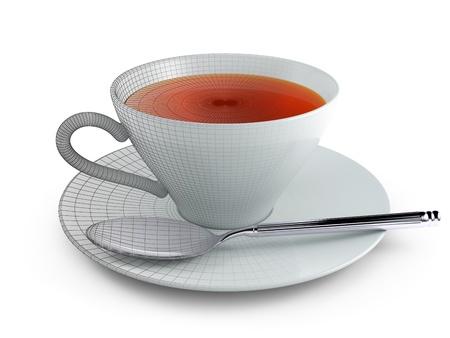 viewport: Tea Stock Photo