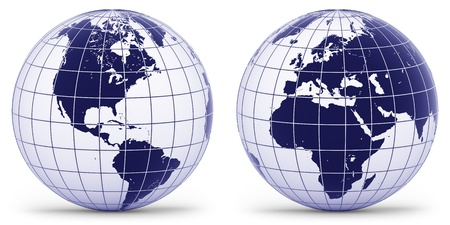 graticule: Globe