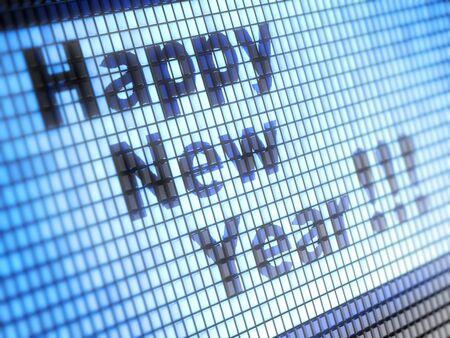 Happy new year Stock Photo - 16699159
