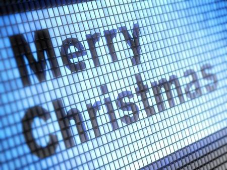 Merry christmas Stock Photo - 16699156