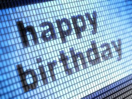 happy birthday Stock Photo - 17125207