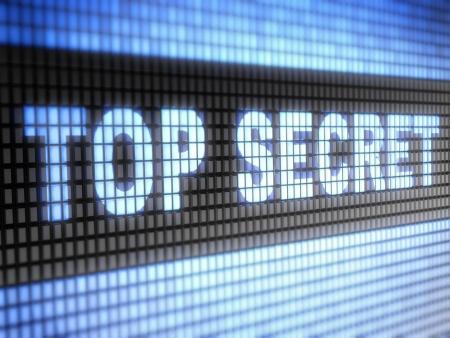 top secret Stock Photo - 17125197