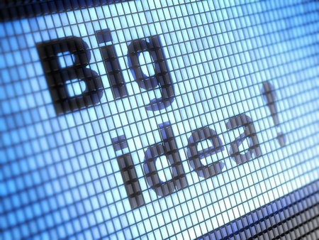 big idea Stock Photo - 17371550