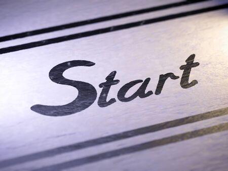 open type font: start