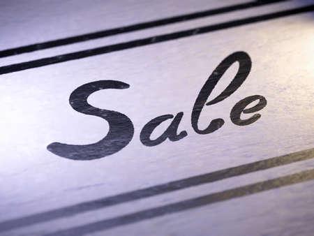 priced: sale Stock Photo