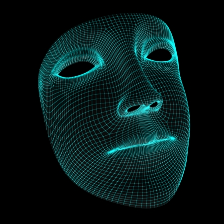 wire mesh: mask