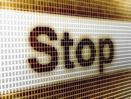 stop Stock Photo - 19477349
