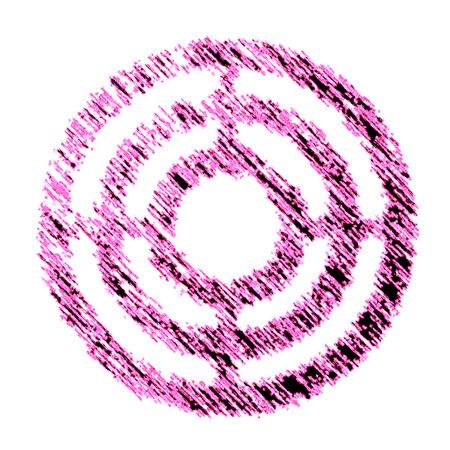 www arm: target Stock Photo