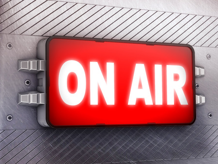 live on air: on air