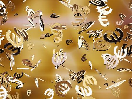 eur: Golden euros