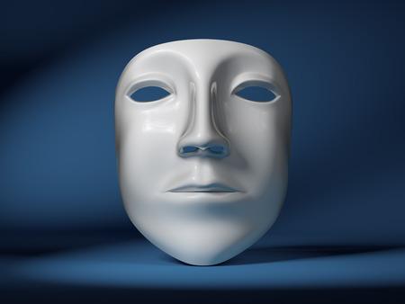 Mask on scene  photo