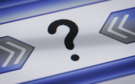 interjection: question icon