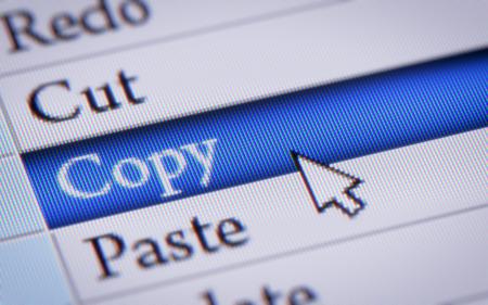 copy paste: Copy