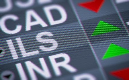 digital stock: Israeli new shekel