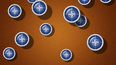 nato: NATO flag